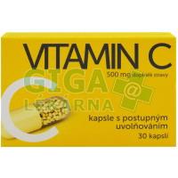 Vitamin C 500mg kapsle s postup.uvolňováním 30 kapslí
