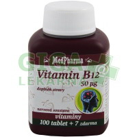 MedPharma Vitamin B12 107 tablet