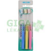 Sensodyne Expert Soft Trio pack zubní kartáček