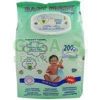 Ubrousky vlhčené dětské Baby Fresh 200ks