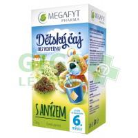 Megafyt Dětský černý čaj s anýzem 20x1.75g