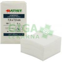 Gáza Batist kompresy z netk. textilu 7,5x7,5 Exp. 07/15