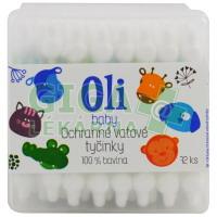 Oli dětské vatové tyčinky ochranné 72ks