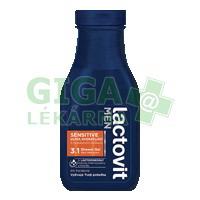 Lactovit Men Sensitive Ultra hydratující sprchový gel 300ml