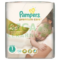 PAMPERS Premium Care Newborn 2-5kg 78ks