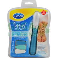 Scholl Velvet Smooth Elektrický pilník na nehty