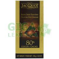 JACQUOT Extra hořká čokoláda 80% 100g