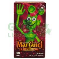 Marťánci s Inulinem jahoda 30 tablet