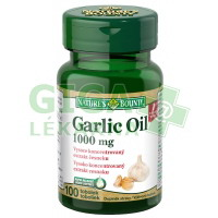 Natures Bounty Garlic Oil 100 tablet