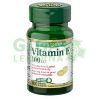 Natures Bounty Vitamin E 100 kapslí