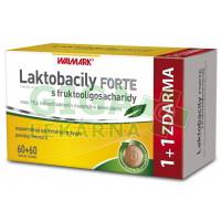 Walmark Laktobacily FORTE s fruktooligosacharidy 60+60
