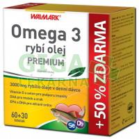 Walmark Omega 3 rybí olej PREMIUM tob.60+30