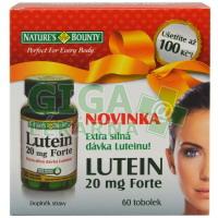 Natures Bounty Lutein Forte 20mg 60 tobolek