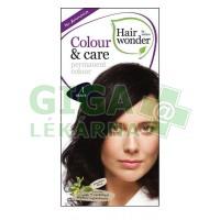 Přírodní dlouhotrvající barva Černá 1 Hair wonder