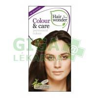 Přírodní dlouhotrvající barva Středně hnědá 4 Hair wonder