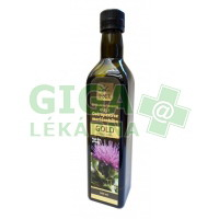Panenský olej z ostropestřce mariánského GOLD lahvička 500ml