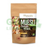 Naturiq Müsli čokoláda + Physalis , Prémium , BIO RAW 400g