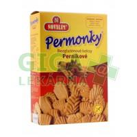 Novalim Bezlepkové keksy perníkové PERMONKY 150g