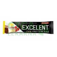 NUTREND EXCELENT protein bar DOUBLE 85g citron+tvaroh + malina s brusinkami