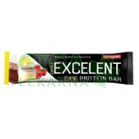NUTREND EXCELENT protein bar DOUBLE 40g citron+tvaroh+malina