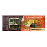 Čokoláda Rocao goji pomeranč kešu BIO RAW 38g