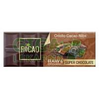 Čokoláda Rocao kakaové boby BIO RAW 38g