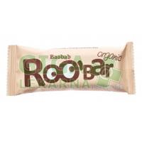 Allexx ROOBAR Datlová tyčinka baobab zázvor 30g BIO/RAW