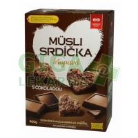 Musli srdíčka křupavá s čokoládou 400g Semix