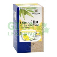 SONNENTOR Olivový list a citronová tráva bio poracovaný 18x1,8g