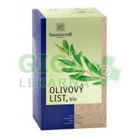 Sonnentor Olivový list bio porcovaný 18x1,2g