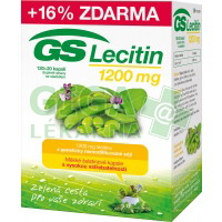 GS Lecitin 1200mg 120+20 kapslí