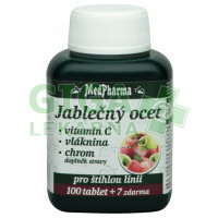 MedPharma Jablečný ocet+vláknina+vit.C+chrom 107 tablet