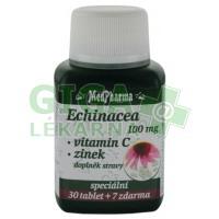 MedPharma Echinacea 100mg+vit.C+zinek 37 tablet