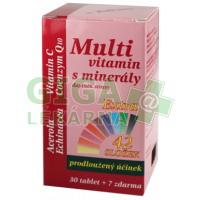 MedPharma Multivitamín s minerály+extra C 37 tablet