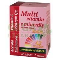 MedPharma Multivitamín s minerály+extra C 67 tablet