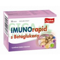 Apotheke Imunorapid s betaglukany tbl. 30