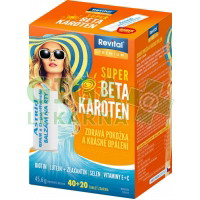 Revital Super Beta-karoten +balz.Astrid 40+20 tablet