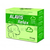 Alavis Relax 75mg pro psy a kočky 20 kapslí