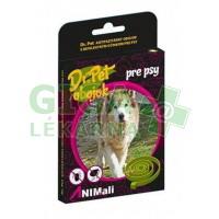 Dr. Pet Antiparazitární obojek pro psy - hnědý 19 g / 75 cm