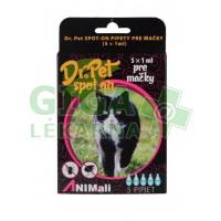 Dr. Pet Spot-On pro kočky 5x1ml