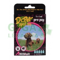 Dr. Pet Spot-On pro psy 5x1ml