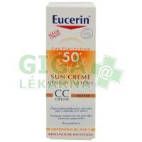EUCERIN SUN CC krém opalov.SPF50+ stř.tmavý 50ml