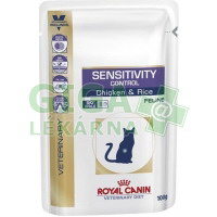 Royal Canin VD Cat kaps. Sensitivity chicken 12x100g