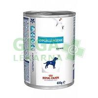 Royal Canin VD Dog konz. Hypoallergenic 400g