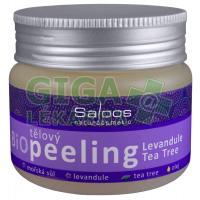Saloos Bio Levandule Tea Tree tělový peeling 140ml