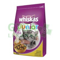 Whiskas dry Junior - kuřecí 300g
