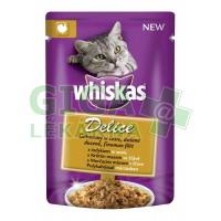 Whiskas kaps. - DELICE dušené krůtí 85g