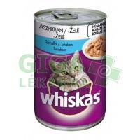 Whiskas konz. tuňák v želé 400g