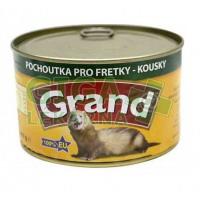Grand fretka konz. - kousky ve vlastní šťávě 405g