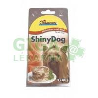 Gimborn Shiny dog konz. - kuře, hovězí 2x85g